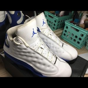 royal blue air jordan 13s